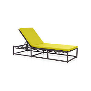 Morocco Chaise Lounge with Sunbrella ® Cushion