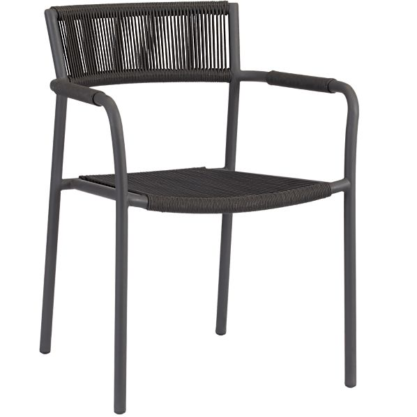 Crate and barrel morocco chair morocco dining chair in for Crate and barrel armless chair