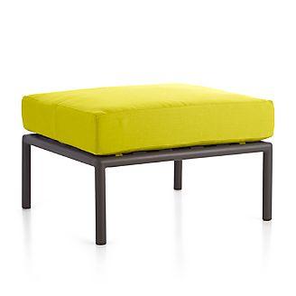 Morocco Ottoman with Sunbrella ® Cushion