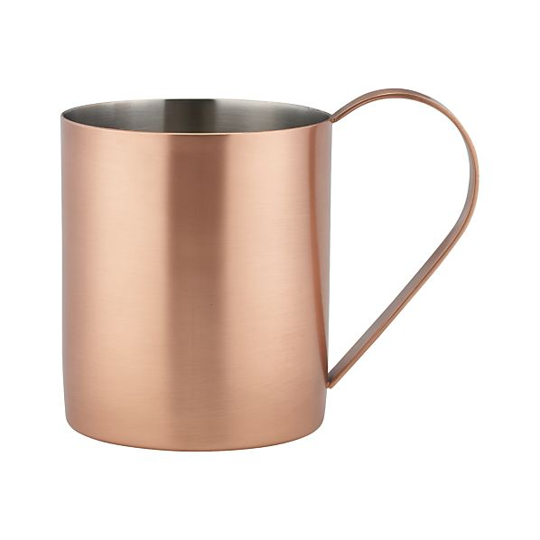 Moscow Mule Glass
