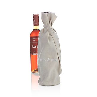 Mr. and Mrs. Wine Bag