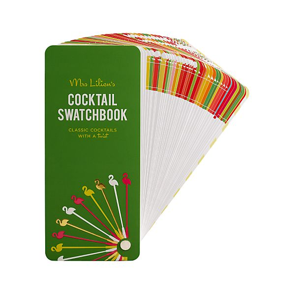 """Mrs. Lilien's Cocktail Swatchbook"""