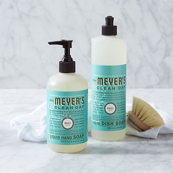 Mrs. Meyer's Clean Day ® Basil Soaps