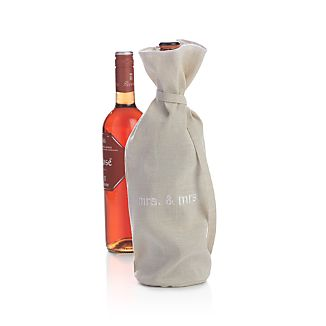 Mrs. and Mrs. Wine Bag