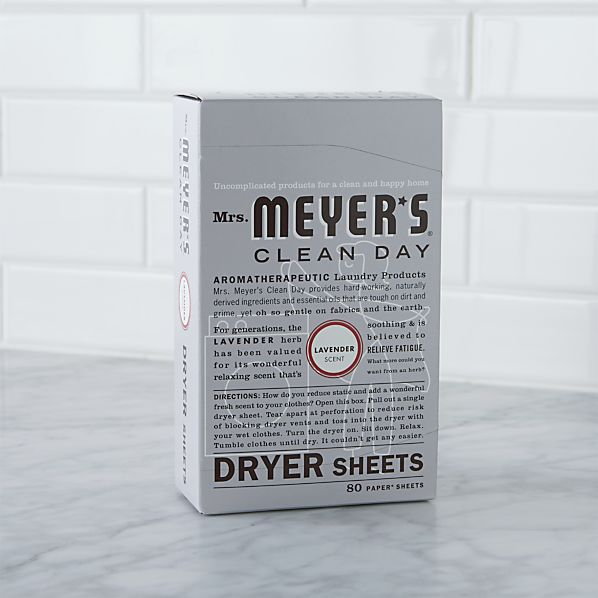 Mrs. Meyer's Clean Day® Lavender Dryer Sheets