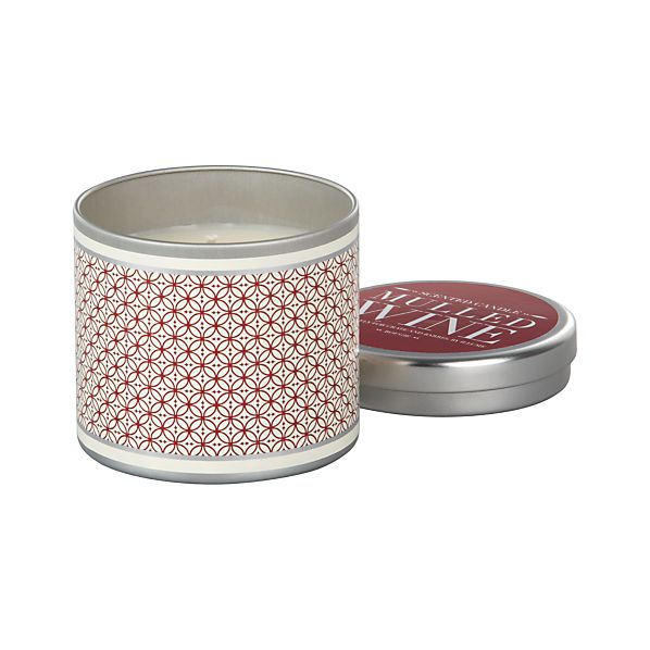 Mulled Wine Candle Tin