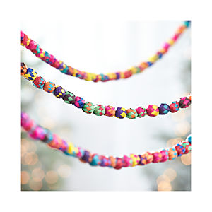 Multi-Color Palm Garland