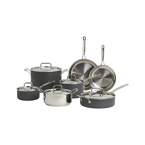 Cuisinart® MultiClad Unlimited™ 12-Piece Cookware Set with Bonus