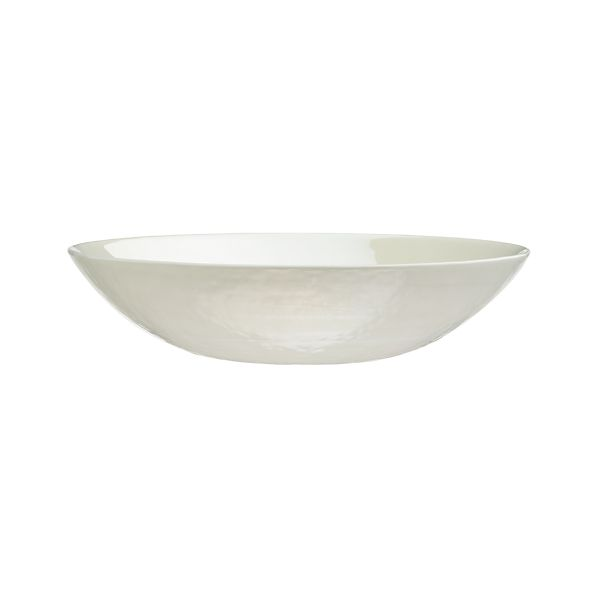 Murano Cream Low Bowl