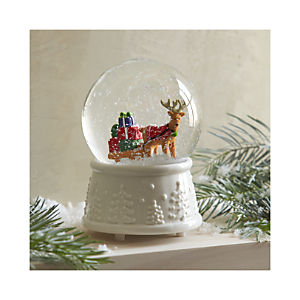 Music Box Snowglobe