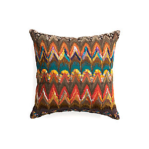 "Naldo 16"" Pillow with Feather-Down Insert"