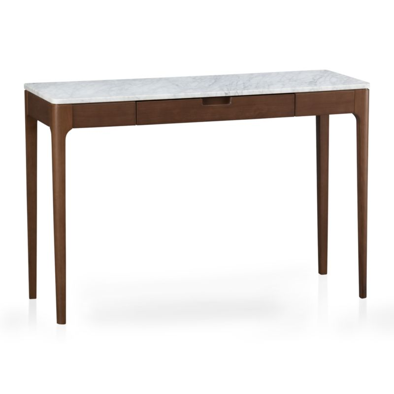 nash console table in coffee tables side tables crate