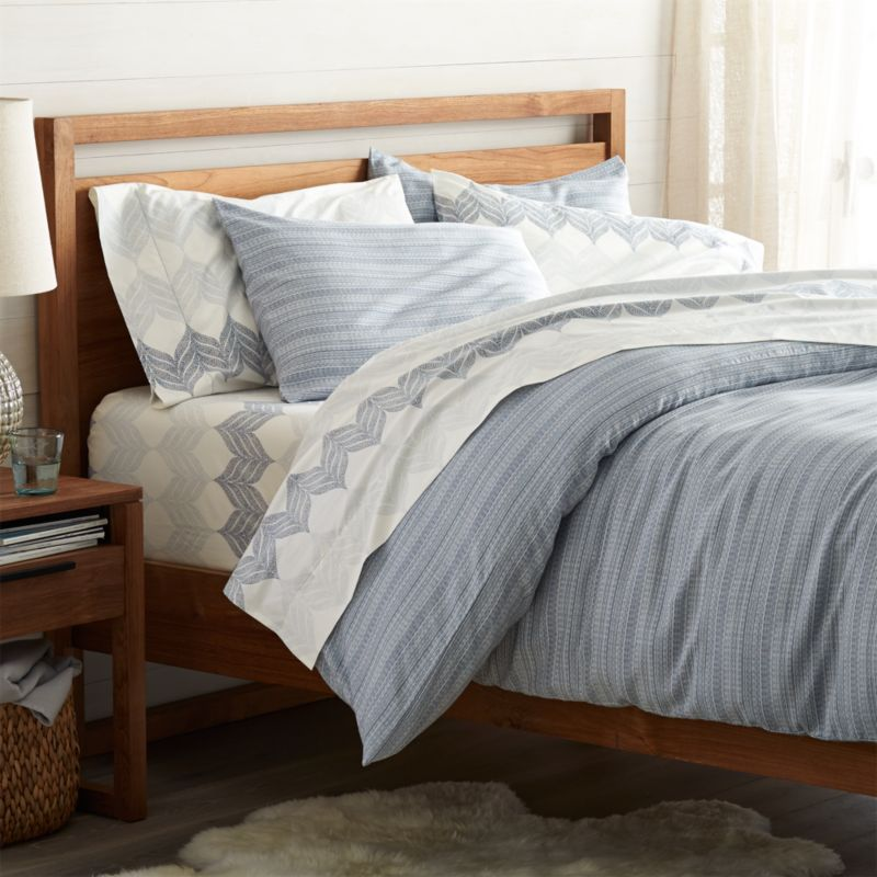 nasoni king duvet cover crate and barrel