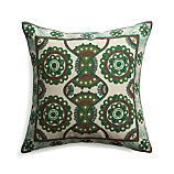 "Natale 18"" Pillow with Feather-Down Insert"