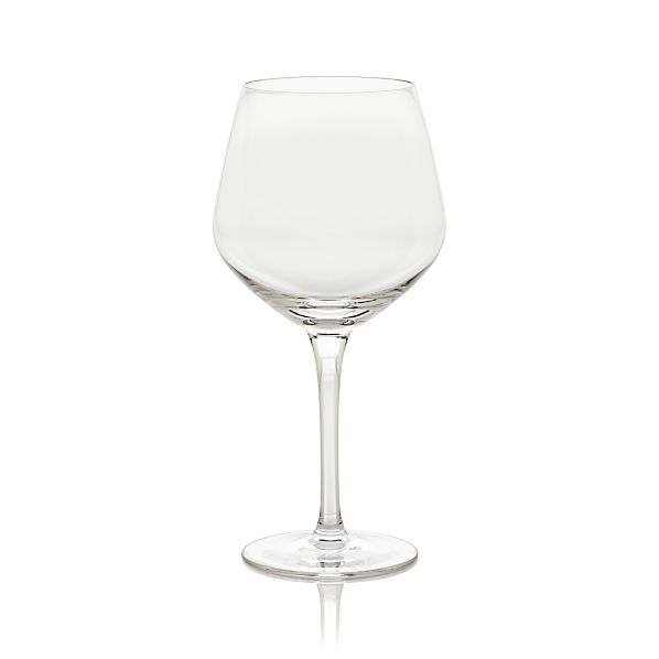 Nattie Big Red Wine Glass