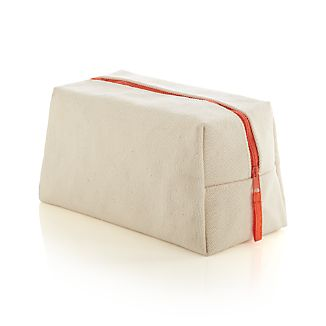 Natural Canvas Dopp Kit