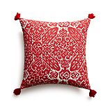 "Navidad 16"" Pillow with Feather-Down Insert"