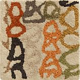 Negril 12&quot; sq. Rug Swatch