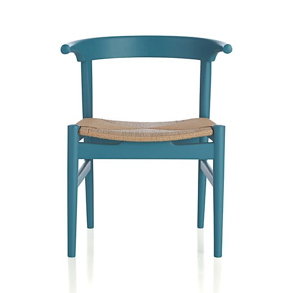 Neils Blue Dining Chair In Outlet Furniture