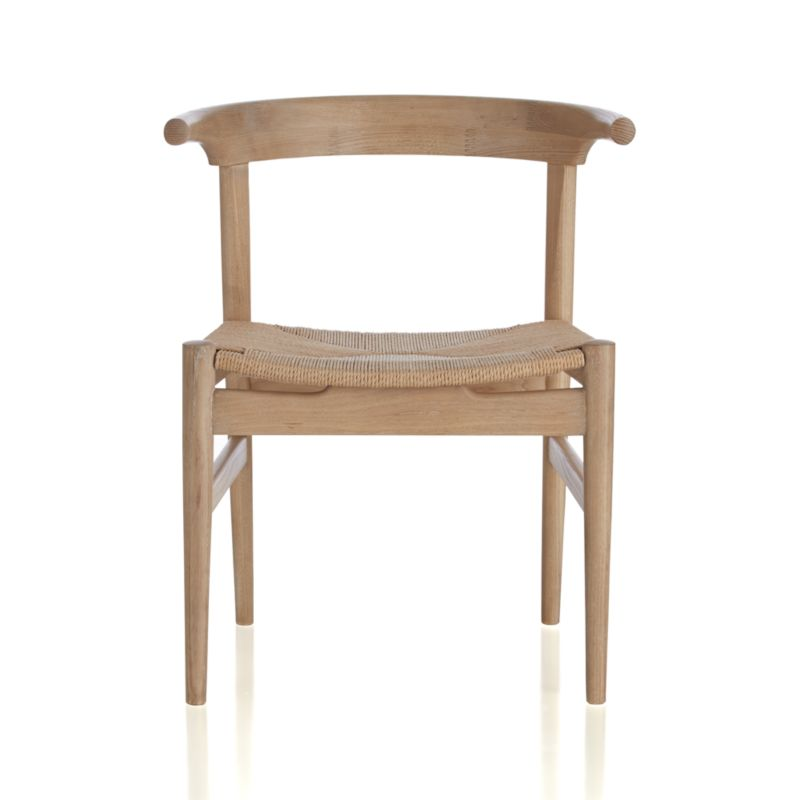Crate And Barrel Dining Chairs: Neils Natural Dining Chair
