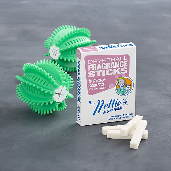 Nellie's™ All-Natural Dryerball and Fragrance Stick Set