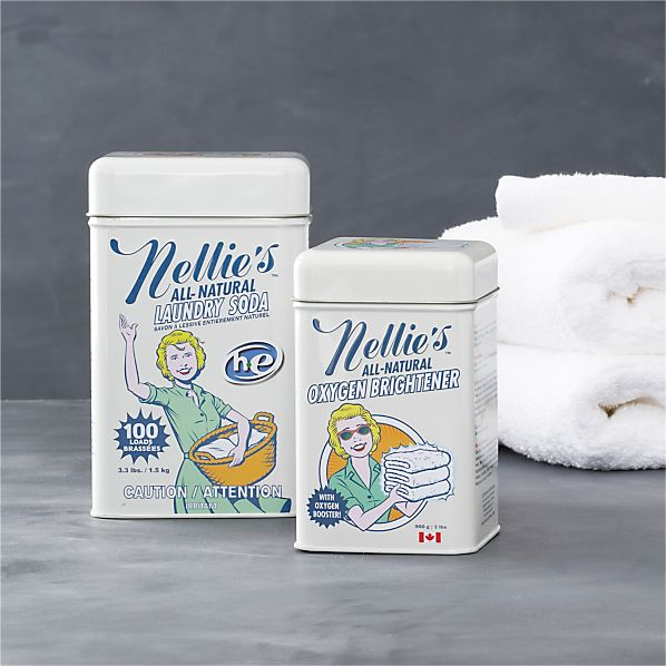 Nellie's™ 2-Piece All-Natural Laundry Soda and Oxygen Brightener Set
