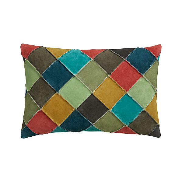 "Nesbit Multi 18""x12"" Pillow with Down-Alternative Insert"