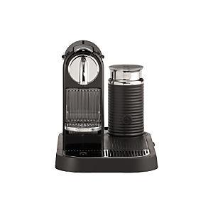 Nespresso® Citiz Black Espresso Machine with Aeroccino Frother