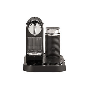Nespresso® Citiz Black Espresso Machine with Aeroccino Frother