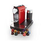 Nespresso® Citiz Red Espresso Machine with Aeroccino Frother.