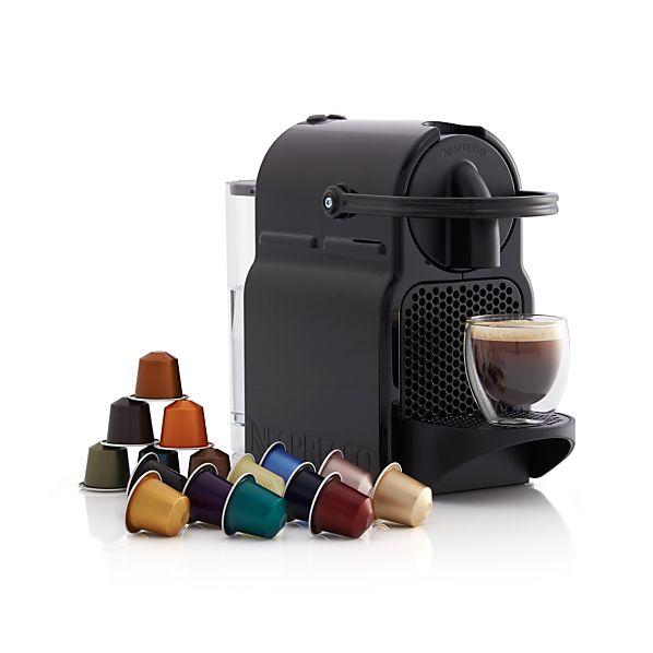 Nespresso 174 Inissia Espresso Maker Crate And Barrel