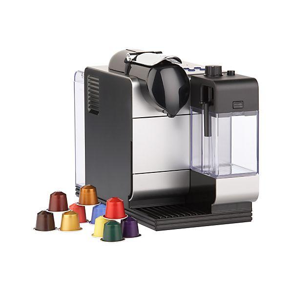 DeLonghi® Silver Nespresso® Lattissima Plus Espresso Maker