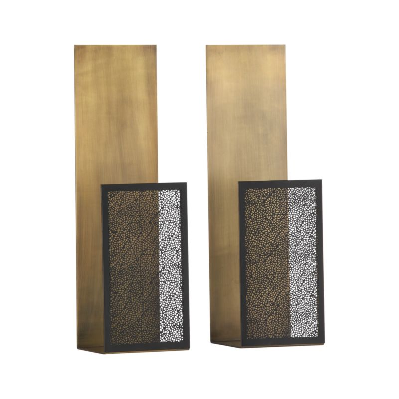 Set of 2 Ness Sconces Crate and Barrel