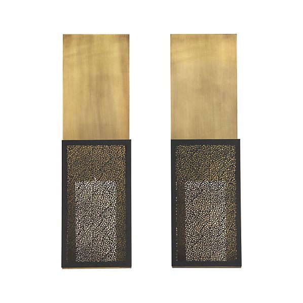 Ness Candle Sconce Set of Two