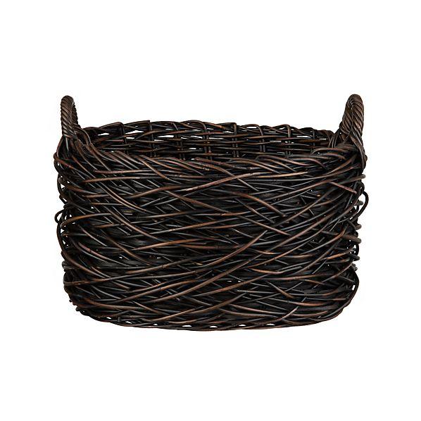 Nest Weave Oval Basket