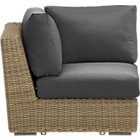 Newport Modular Corner with Cushions (includes one seat and two back cushions)