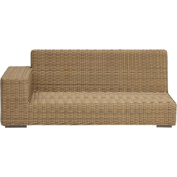 Newport Modular Left Arm Loveseat