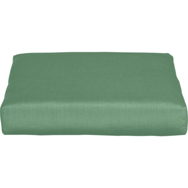 Newport Sunbrella® Bottle Green Modular Ottoman Cushion