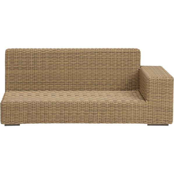 Newport Modular Right Arm Loveseat