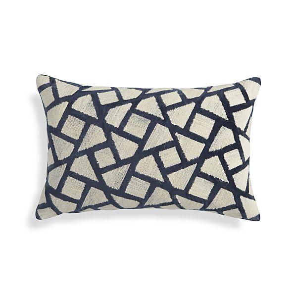 """Nikko Blue 20""""x13"""" Pillow"""