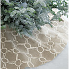 Noelle Ivory Tree Skirt.