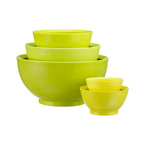 5-Piece Nonslip Mixing Bowl Set