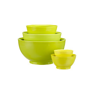 5-Piece Calibowl® Nonslip Mixing Bowl Set