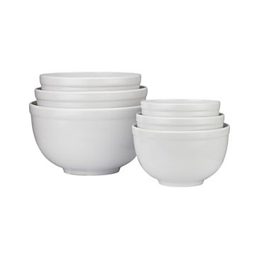6-Piece Nonslip Nesting Mixing Bowl Set