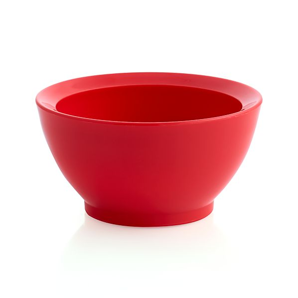 Calibowl® Nonslip Red Prep Bowl