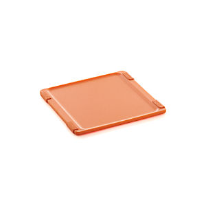 Jelli® Orange Nonslip Reversible Cutting Board