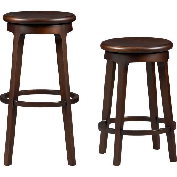 Nora Bar Stools Crate And Barrel