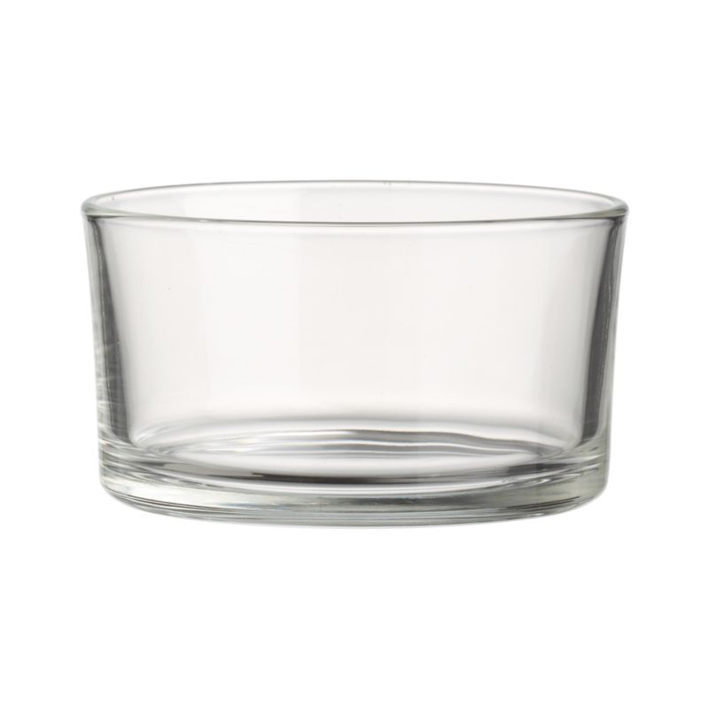 A clear alternative for snacks, sweets, sides or condiments. Versatile Italian glass bowl is simply elegant and dishwasher-safe.<br /><br /><NEWTAG/><ul><li>Clear glass</li><li>Top-rack dishwasher-safe</li><li>Made in Italy</li></ul>