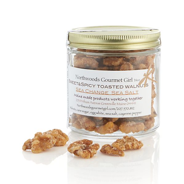 Sale alerts for Crate&Barrel Northwoods Gourmet Sweet and Spicy Walnuts - Covvet