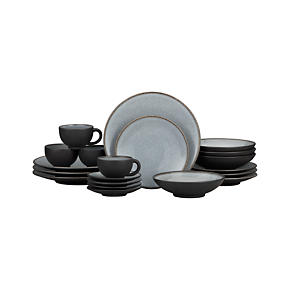 Nuit 20-Piece Dinnerware Set